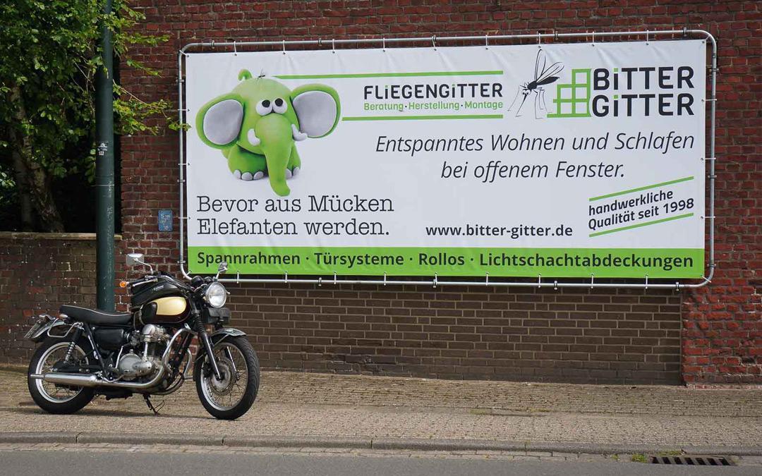 Neue Werbung in Hamminkeln
